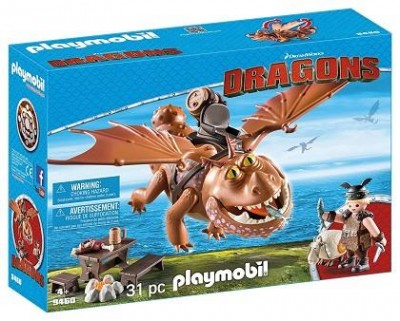 PLAYMOBIL DRAGONS BARRILETE Y PATAPEZ