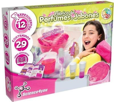 FABRICA DE PERFUMES Y JABONES SCIENCE4YOU