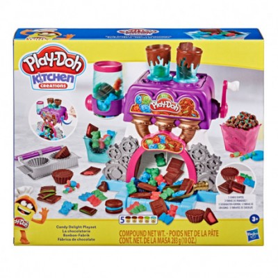 PLAY-DOH FABRICA DE CHOCOLATE