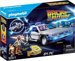 DELOREAN PLAYMOBIL 70317 REGRESO AL FUTURO