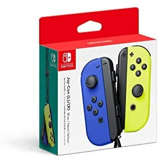 JOY-CON BLUE AND YELLOW