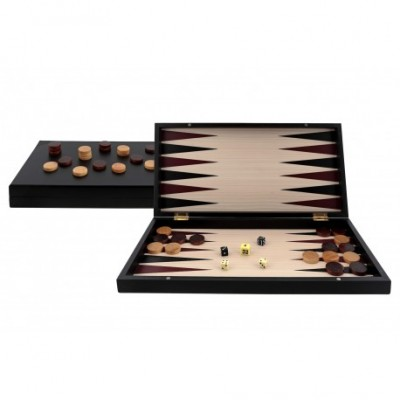 BACKGAMMON PROFESIONAL BLACK SERIES