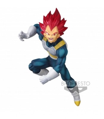 DRAGON BALL SUPER BLOOD OF SAIYANS SPECIAL SUPER SAIYAN GOD VEGETA 20 Cm
