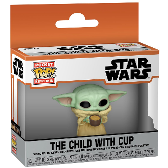 POP KEYCHAIN THE CHILD WITH CUP