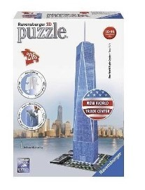 RAVENSBURGER PUZZLE 3D NEW WORLD TRADE CENTER 216 PIEZAS