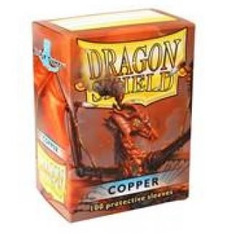 DRAGON SHIELD COPPER 100 FUNDAS PROTECTORAS