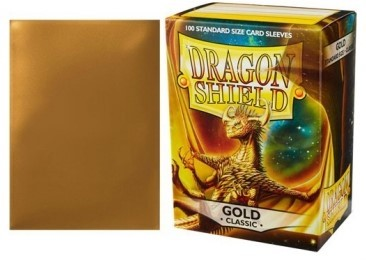 DRAGON SHIELD GOLD 100 FUNDAS PROTECTORAS ESTANDARD