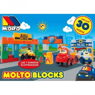 MOLTO BLOCKS SCHOOL 30 PIEZAS