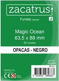 FUNDAS ZACATRUS MAGIC OCEAN 63,5 X 88 NEGRO