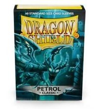 FUNDAS DRAGON SHIELD PETROL CLASSIC 60 UNIDADES