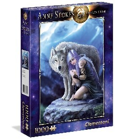 PUZZLE CLEMENTONI ANNE STOKES COLLECTION PROTECTOR 1000 PIEZAS