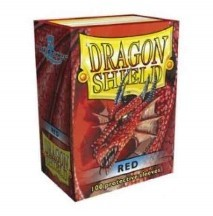 DRAGON SHIELD RED 100 FUNDAS ESTANDAR