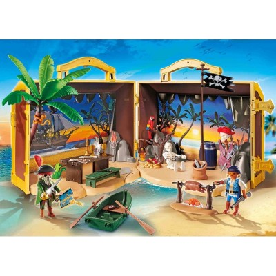 PLAYMOBIL ISLA PIRATA 70150
