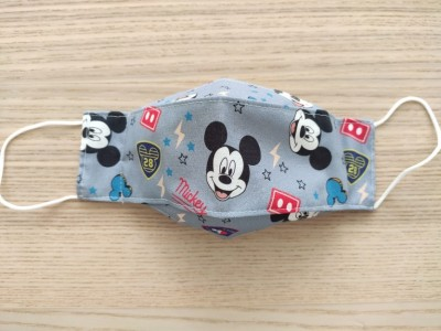 MASCARILLA ADULTO 3D MICKEY AZUL