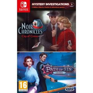 MYSTERY INVESTIGATIONS NOIR CHRONICLES & PATH OF SHIN NINTENDO SWITCH