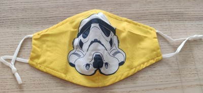 MASCARILLA ADULTO STAR WARS AMARILLA