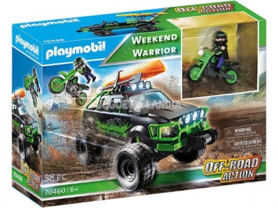PLAYMOBIL 70460 WEEKEND WARRIOR