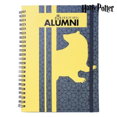 LIBRETA A5 HARRY POTTER HUFFLEPUFF