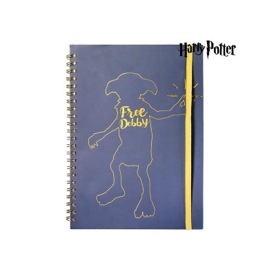 LIBRETA A5 HARRY POTTER DOBBY