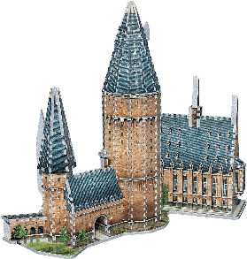PUZZLE 3D HOGWARTS GREAT HALL