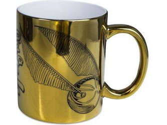 TAZA METALICA HARRY POTTER
